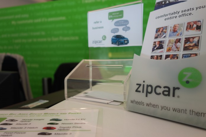 Zipcar's recent partnership with UConn gives students without a car on campus the opportunity for 24/7 vehicle access on campus. (kennejima/Flickr Creative Commons)