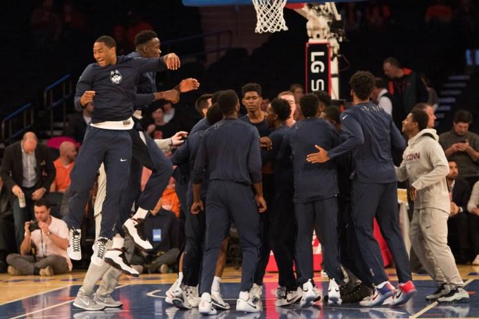 UConn takes 'Cuse at MSG