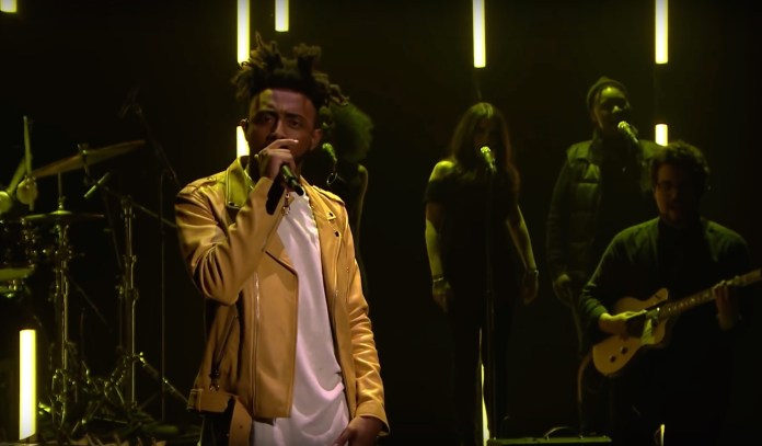 """Aminé is best known for his song """"Caroline,"""" which reached the No. 11 spot on the U.S. Billboard Hot 100 chart.The Spring Concert is scheduled for Thursday, April 6 at Gampel Pavilion. The time of the concert will be announced at a later date.(Wikipedia Creative Commons)"""