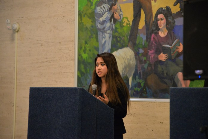 Newly elected member of UConn's Board of Trustees, Christine Savino, will represent the voices of students across campus.(Amar Batra/The Daily Campus)