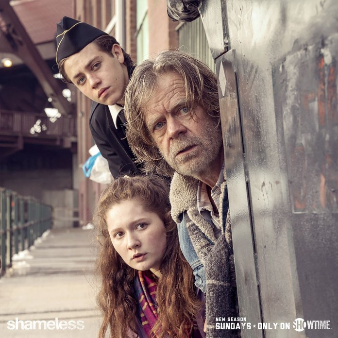 A very popular show right now, Shameless, a Showtime series, is in its seventh season. The drama follows the dysfunctional Gallagher family as they struggle with life in the projects of Chicago. (Facebook/Shameless)