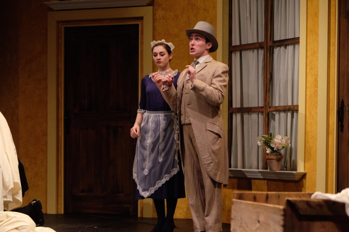 """The UConn Opera """"The Marriage of Figaro"""" was performed in the J. Louis von der Mehden Recital Hall over the weekend. The opera, sung in latin, included a pit orchestra to accompany the singers. (Jon Sammis/The Daily Campus)"""
