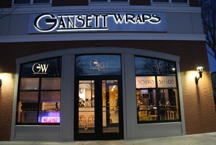 Gansett Wraps located on Royce Cir. is known for their great food and healthy alternatives.(Photo courtesy to Gansett Wraps)