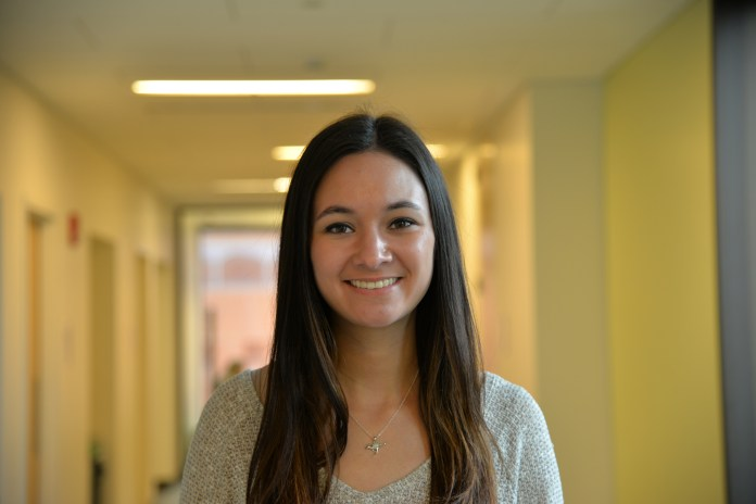 Nutmeg Publishing's 2017-18 editor-in-chief will be Elise Sotolongo, a sixth-semester sociology and English major minoring in criminal justice who currently serves as the organization's yearbook managing editor. (Amar Batra/The Daily Campus)