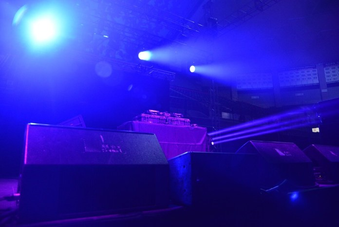 The stage was set when students heard the news at 7:18 p.m. that SUBOG had cancelled the spring concert. Lil Uzi Vert stated via Twitter that his flight had been cancelled.(Amar Batra/The Daily Campus)