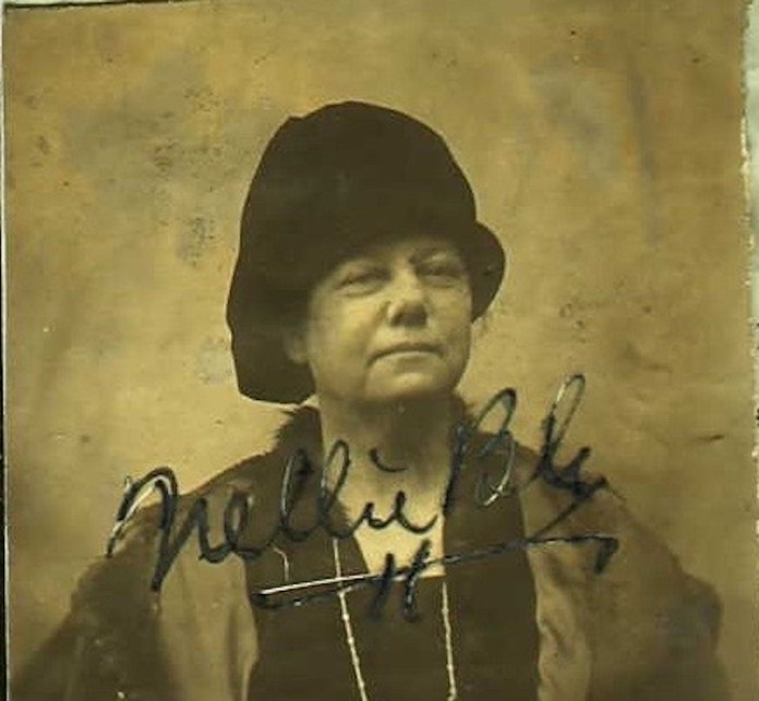 Elizabeth Cochrane Seamans, aka Nellie Bly, who applied for a US passport in Vienna, Austria in 1919 in order to return to the USA. In order to obtain ithe PP she needed to obtain an identity document from the Spanish Embassy in Vienna. She had been living in Vienna since 1914 and reported on WWI for the American newspapers.(Dave Miller/Creative Commons Flickr)