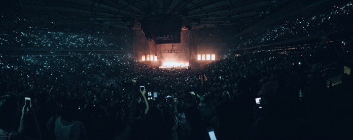 The 1975 sold out Madison Square Garden for a show on Friday June 2nd. (Julia Mancini/The Daily Campus)