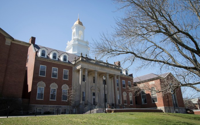 The Wilbur Cross Building on the UConn campus in Storrs, Connecticut. (File Photo/The Daily Campus)