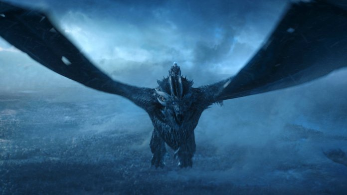 """This image released by HBO shows Vladimir Furdik as The Night King on the season finale of """"Game of Thrones."""" (HBO via AP)"""