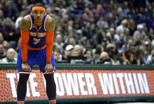 The New York Knicks recently traded Carmelo Anthony to the Oklahoma City Thunder. (AP Photo/Aaron Gash, File)