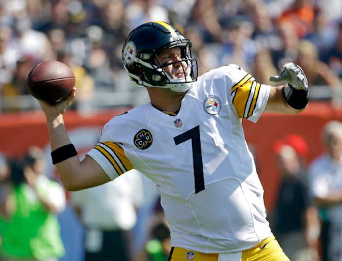Roethlisberger is notorious for his drop in performance away from home. Roethlisberger has had a passer rating in the 60s in each of the last three games in Baltimore, well below his career average of 94. Keep him on your bench.(AP Photo/Nam Y. Huh)
