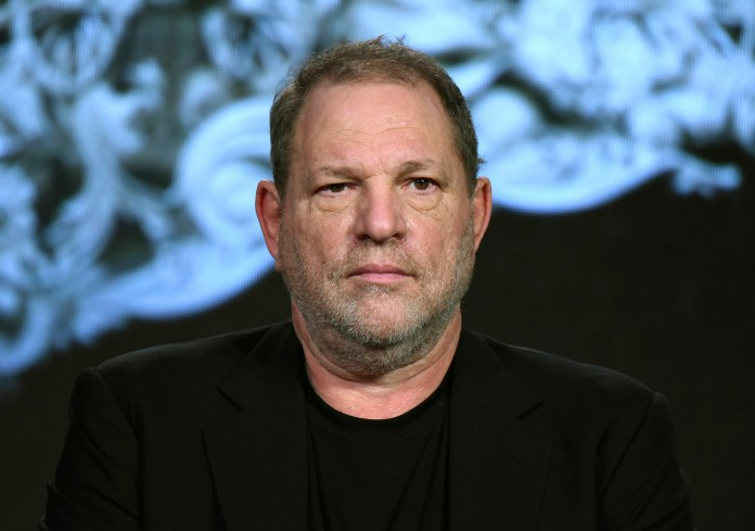 Pictured, Harvey Weinstein participates in a panel at the A&E 2016 Winter TCA in Pasadena, Calif. in Jan. 2016. On Oct. 14, The Academy of Motion Picture Arts and Sciences decided to dismiss Harvey Weinstein as a member, the second time ever this judgment has been evoked. (Richard Shotwell/AP)