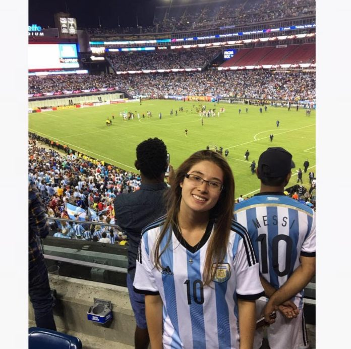 When I was nine years old I watched a 17-year old Messi play against Colombia and I was not the same. I was enchanted, I never thought about that moment as a life-changing moment in my life. (Courtesy/Daniela Marulanda)