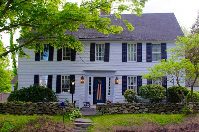 The Spring Hill Inn is just south of UConn's Storrs campus. (Photo via airbnb.com)