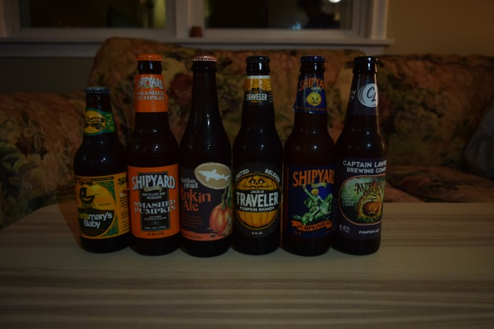 With leaves changing and Halloween just around the corner, pumpkin beer season is in full swing. More and more breweries are releasing seasonal beers to cash in on the annual pumpkin spice craze. (Will Harris/The Daily Campus)