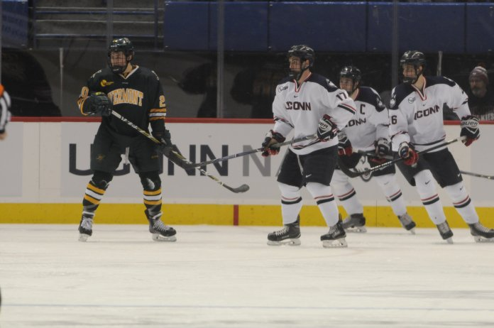 UConn has won four of its last five heading into No. 16 Colgate. (Jon Sammis/The Daily Campus)