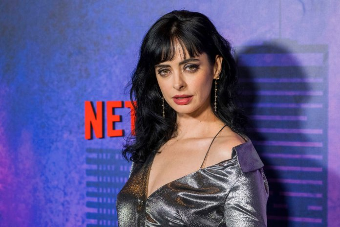 """Krysten Ritter attends the Netflix original series premiere of """"Marvel's Jessica Jones"""" season 2 at AMC Loews Lincoln Square on Wednesday, March 7, 2018, in New York. (Photo by Charles Sykes/Invision/AP)"""