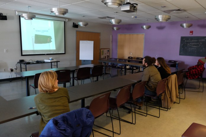 The Women's Center hosted a film series in the Student Union on Monday, Mar. 19 on the history of women's momvements in the United States. (Jon Sammis/The Daily Campus)