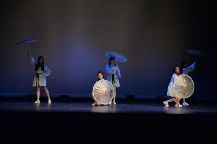 JW & GED team perform during Asian Nite 2018 in the Jorgensen Center for the Performing Arts on Friday march, 23, 2018. The annual event is hosted by the Asian American Cultural Center to celebrate asian culture through the many associated student groups. (Amar Batra/The Daily Campus)