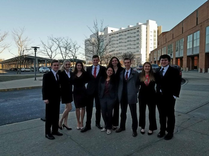 Although UConn Mock Trial is often associated with following a law-centered track while studying at the university, Reyando said all students should look into the club, regardless of their major. (Courtesy/UConn Mock Trial Society)
