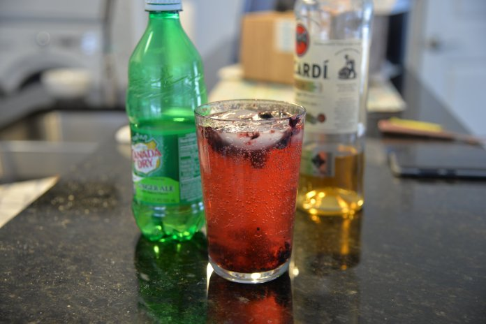 Get ready for warm weather with the Blueberry Smash. (Via Daily Campus Life)