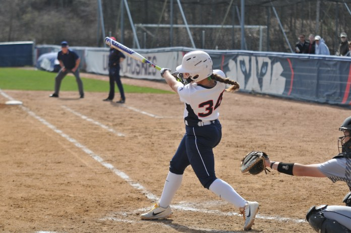 UConn hosts Bryant University for their mid-week game at the Burrill Family Field on Tuesday, Apr. 24. The Huskies cruised to a 4-1 win over the Bulldogs, leading to their second mid-week victory. (Jon Sammis/The Daily Campus)