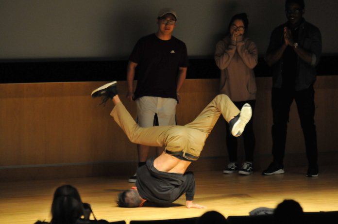 Student performers raise money for Korean refugees in the Student Union Theater Tuesday night. (Nicholas Hampton/The Daily Campus)