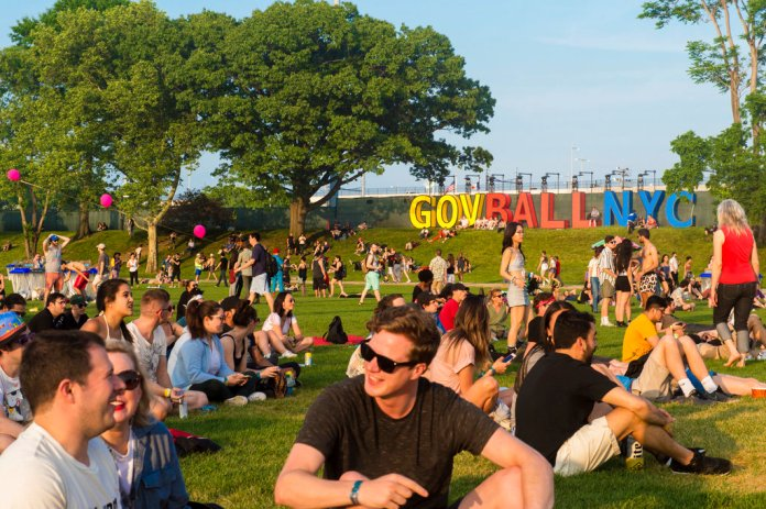 General atmosphere at The Governors Ball Music Festival at Randall's Island Park on Friday, June 1, 2018, in New York. (Photo by Scott Roth/Invision/AP)