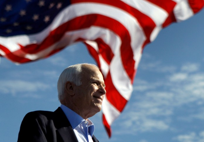 """Senator McCain left behind a legacy of putting his """"country first,"""" after passing away on Saturday Aug. 25. (Carolyn Kaster, File/AP)"""