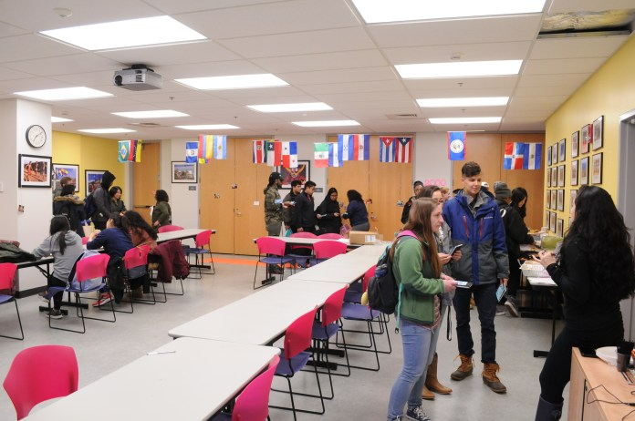 A Cultural Center event in action (Judah Singleton/The Daily Campus)