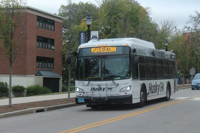 UConn has new bus routes, but they are hardly receiving widespread acclaim. (File Photo/The Daily Campus)
