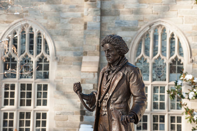 On Sept. 3, 1838, Frederick Douglass made his final attempt at escaping slavery from Baltimore, Maryland. (West Chester University/Flickr Creative Commons)