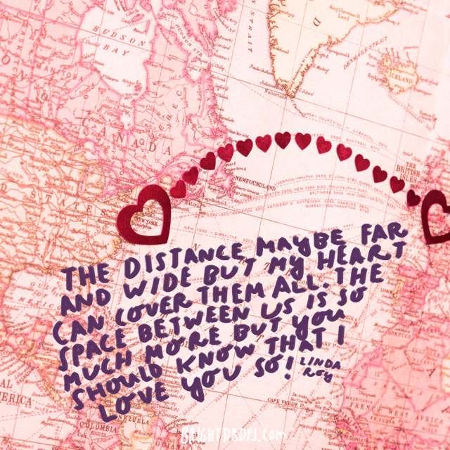 Long distance can mean across the world or just across a state, but no matter how far apart you and your significant other actually are, the physical distance between you can sometimes make it feel as if you live on different planets. (Erin (Quotes)/Flickr Creative Commons)