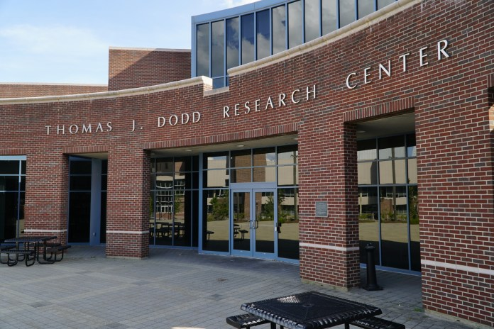 The Thomas J. Dodd Research Center (Eric Wang/The Daily Campus)