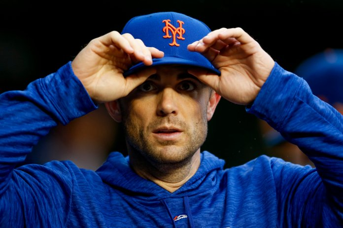 New York Mets' David Wright walks through the dugout during a game against the Washington Nationals. (AP Photo/Andrew Harnik)