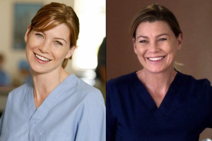 Ellen Pompeo of Grey's Anatomy (Richard Cartwright/ABC via Getty; ABC)