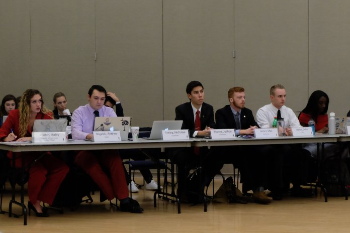 The University of Connecticut Undergraduate Student Government (USG) is currently in the process of hiring a new deputy speaker and legislative coordinator for the 2018-19 school year. (File photo/The Daily Campus)