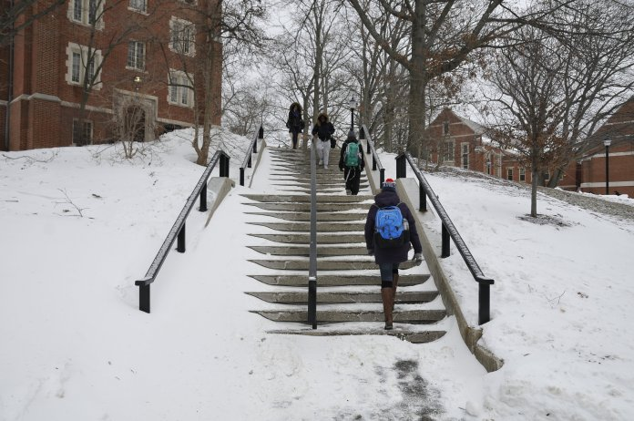 File- Season Affective Disorder occurs most often during the winter. (Jason Jiang/ The Daily Campus)