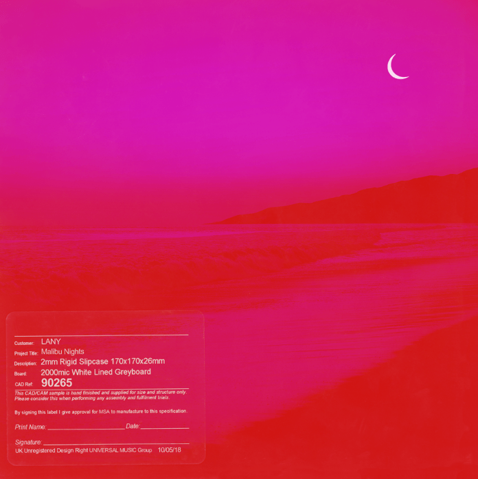 LANY's latest album was released Oct. 5, with only nine tracks. (screenshot/LANY)