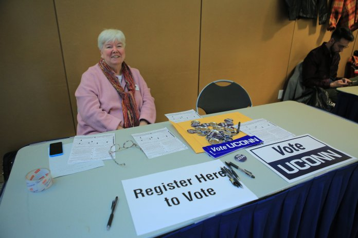 Individuals in multiple states have received phone calls offering to register them to vote over the phone and, in some cases, offering them an absentee ballot, a press release from Merrill's office said. (file photo/The Daily Campus)