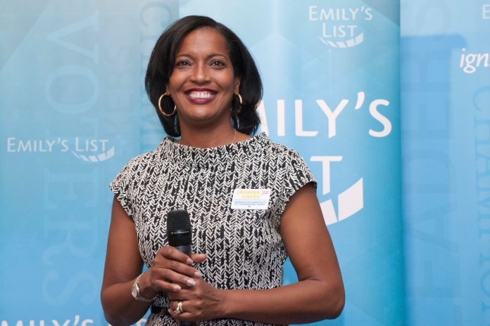 Jahana Hayes is the democratic candidate for 5th Congressional District in Connecticut. (EMILY'S List/ Flickr, Creative Commons)