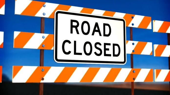 Quacco Road in Pooler to be closed for several months. (Photo by Briana Rivas)