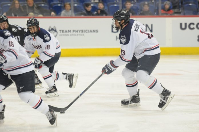 Through six games, the Huskies are 3-2-1. There some bright spots that the team will build on as the season progresses. Photo by Eric Wang, Staff Photographer/The Daily Campus