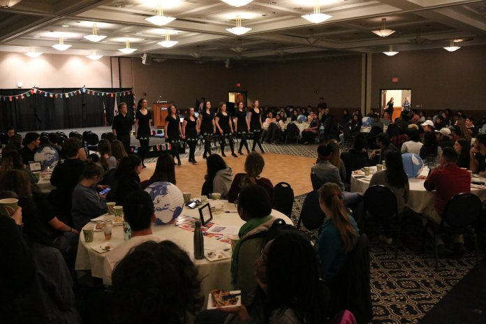 UConn Honor's Council and Honors 4 Diversity host International Night at the Rome Ballroom on November 8, 2018. The event included trivia, food, and performances representing many different international cultures. (Photo by Judah Shingleton/The Daily Campus)