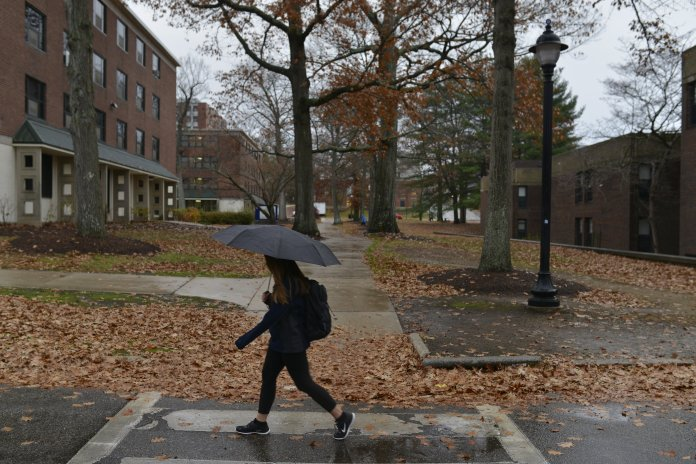 Reitz said the practice of having longer holiday breaks at the expense of a fall break is more characteristic of state schools as opposed to universities like NYU. (File/The Daily Campus)