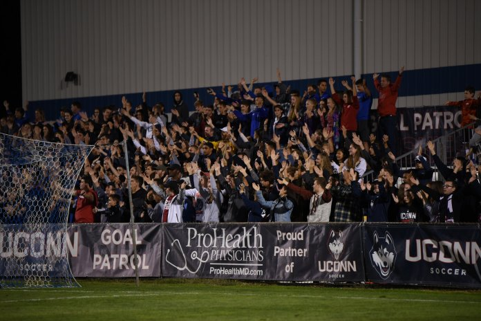 Morrone Stadium has hosted its final UConn men's soccer game. Photo by Charlotte Lao/The Daily Campus