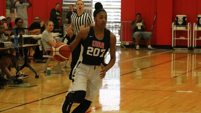 UConn Women's Basketball officially added Aubrey Griffin to their 2019 freshman class. ( Photo courtesy of Uconnhuskies.com )