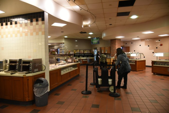 South Campus Dining Hall. (Photo by Charlotte Lao/The Daily Campus)