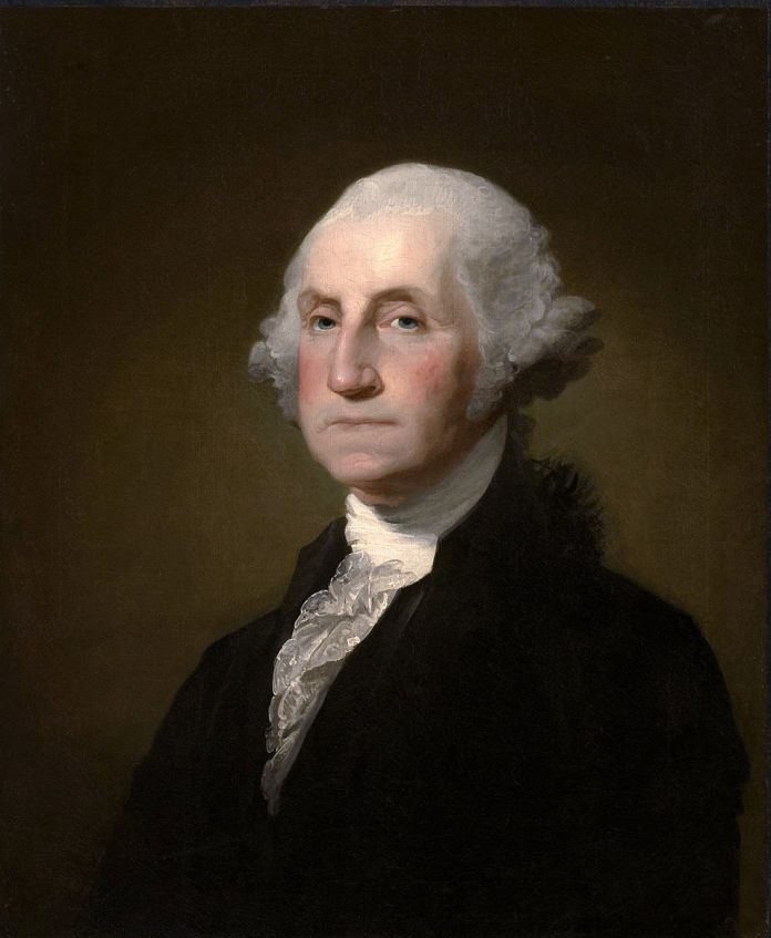 On Feb. 4, 1789, George Washington was the first man to be elected president of the United States and the only president to elected unanimously. (Public Domain/Wikimedia Commons)