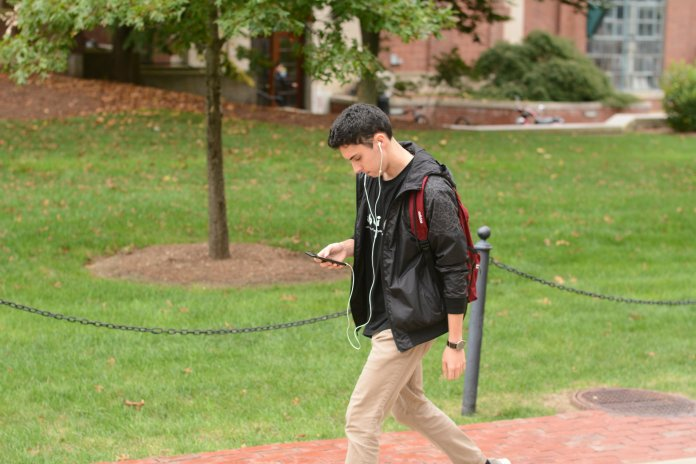 UConnALERT will be sent to emails and mobile devices. Photo by Judah Shingleton/The Daily Campus